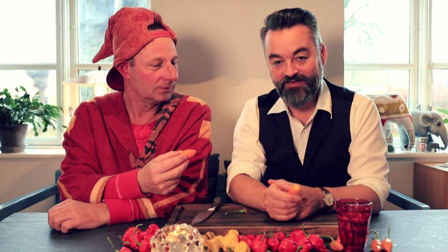 Chili Klaus og Pyrus - en stærk adventskalender
